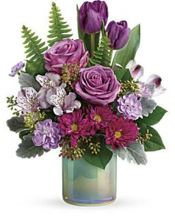 Teleflora\'s Art Glass Garden Bouquet