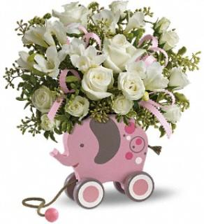 MiGi Baby Elephant ( PINK ONLY )