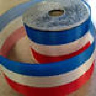 Red, White, Blue Satin Ribbon