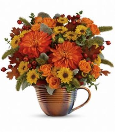 Teleflora\'s Autumn Sunrise Bouquet