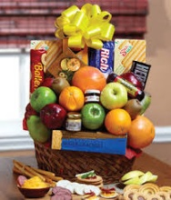 A Fruit and Snack Basket