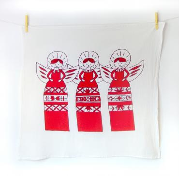 Christmas Tea Towels\\assorted Hymns
